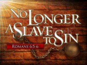 slave no longer sin